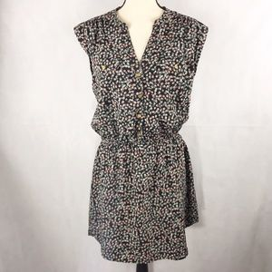 Floral Dress with Pockets Size XL
